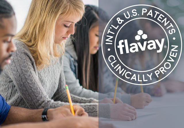A placebo-controlled study of 120 students shows Flavay Plus for 40 days improves directed memory, associative learning, free memory, recognition and visual memory. Click here for more.